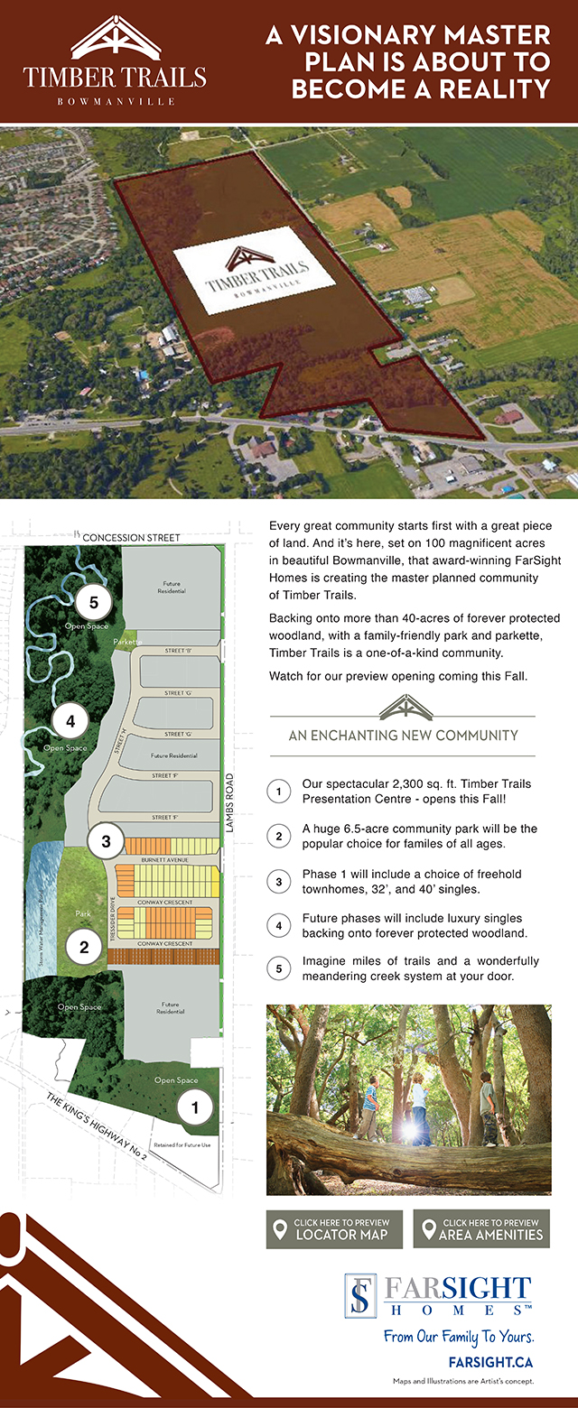 Timber Trails Site Plan Reveal